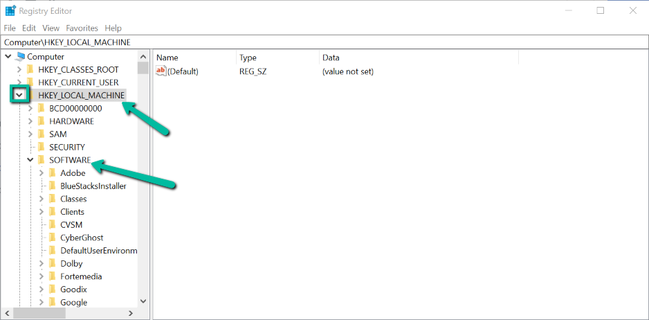 windows 10 login automatically registry value