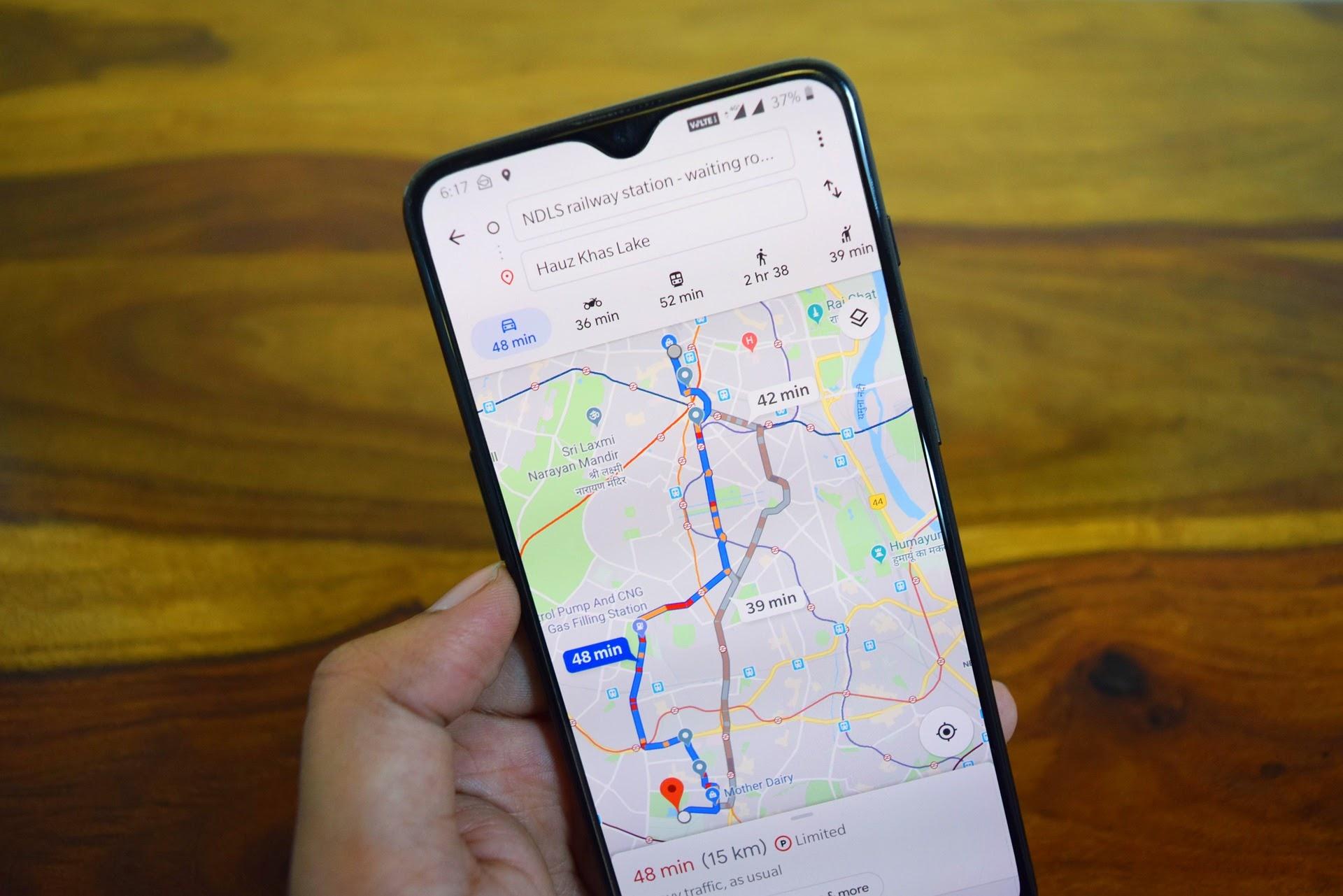hidden features of google maps